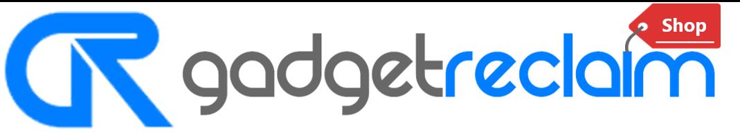 GadgetReclaim Shop